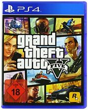Rockstar Ps4 GTA - Grand Theft Auto 5 USK 18