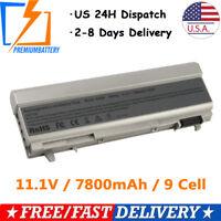9-Cells For Dell Latitude E6400 E6500 E6410 E6510 Laptop Battery 4M529 F8TTW
