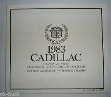 Elektrischer Schaltplan / Wiring Diagram Cadillac DeVille Brougham Diesel 1983