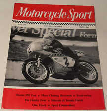Motorcycle Sport magazine May 1975: MZ 250, Morini 350 Strada, Healey 1000-4