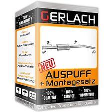Auspuff Renault Clio II Schrägheck 1.4 1.6 16V Mittelschalldämpfer *2331