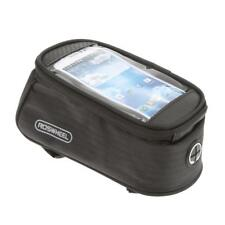 Mountain Bike Bicycle 4.8inch Touch Screen Phone Bag Tube Frame Pouch Black