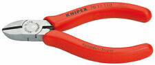 Knipex 7011110 Diagonal Cutter Polished Plastic Coated 4 1/4 In - NEW