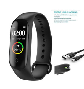 M4 Smart Band Wristband Blood Pressure Heart Rate Monitor high quality watch