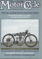 Wallis-Blackburne   1927 Cotton-Blackburne TT   1953 Vincent   Scott   7/1986