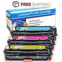 3PK CF381A CF382A CF383A Toner For HP 312A Color LaserJet Pro MFP M476dn M476nw
