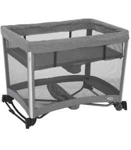 Halo DreamNest Open Air Sleep System 3-in-1, Grey, New, Open Box,