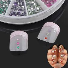 3600pcs/Wheel 1.5mm Acrylic Glitter Decor For UV Nail Art Tips Diamond 12 Colors