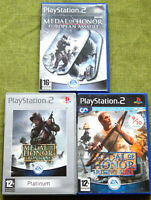 Medal of Honor: Frontline, European Assault, Rising Sun(PlayStation 2, PAL, PS2)