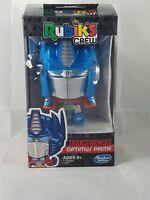 Hasbro Gaming Rubik's Crew Transformers Optimus Prime NIP