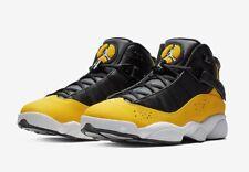 Jordan 6 Rings 'Taxi' 322992-700 Black/Yellow/White Size UK 16 EU 51.5 US 17 New