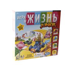 Russisches Hasbro Spiel des Lebens Junior Kinderspiel Gesellschaftspiel Spiel
