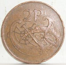 1971 IRELAND 2 TWO PENCE  WORLD COIN NICE!