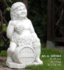 Gartenfigur Gartendeko Mönch Buddha Beton 2er-Set 19 cm 853000