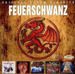 5CD*FEUERSCHWANZ**ORIGINAL ALBUM CLASSICS***NEUWERTIG!!! 4260240788823