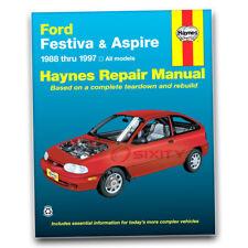 Haynes Repair Manual for 1994-1997 Ford Aspire - Shop Service Garage Book ds