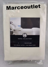 Hotel Collection 1000 Thread Count Supima Cotton Standard Pillowcases Ivory