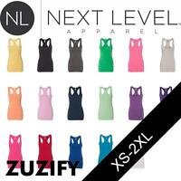 Next Level Ladies Junior Fit Jersey Racerback Tank Top. 6633
