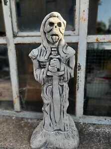 Massive Steinfigur Tot Gargoyle- Der Wächter Torwächter aus Sfteinguss frostfest