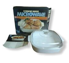 Corningware Microwave Covered Browning Skillet Very good Condition