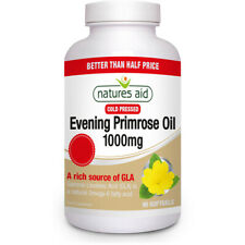 Natures Aid Cold Pressed Evening Primrose Oil 1000mg - 90 Softgels
