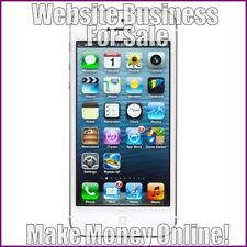 IPHONE Website Business Earn £85 A SALE|FREE Domain|FREE Hosting|FREE Traffic