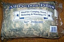 TRAVEL, CAMP PILLOW, SMALL SLEEPING BAG PILLOW, ARMY ACU DIGITAL CAMO *NEW*