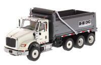 INTERNATIONAL HX620 DUMP TRUCK WHITE WITH GREY BED 1/50 DIECAST MASTERS 71013
