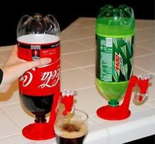 Magic Tap Portable Fizz Saver Soda Dispenser Coke Fizzy Soft Drink Dispenser