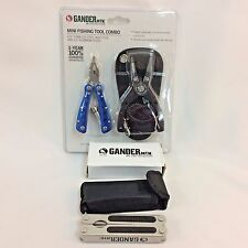 Gander Mountain Mini Fishing Tool Combo & Multi Tool With Sheath