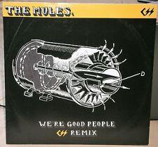 """THE MULES WE'RE GOOD PEOPLE KART019 2006 ORGAN GRINDER / KARTA RECORDS 12"""" VINYL"""