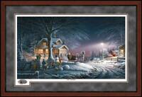 Winter Wonderland Framed Limited Edition Print by Terry Redlin
