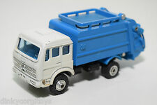 SHINSEI MINI POWER MERCEDES BENZ REFUSE TRUCK MULLWAGEN NEAR MINT RARE SELTEN.