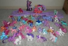 My Little Pony ponies & friends Lot train /track and ponies with pony babies too