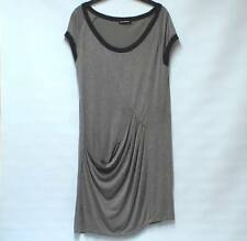 PENNYBLACK @ MAX MARA Quirky 100% SILK Jersey Draped Slouchy Dress Lined UK M
