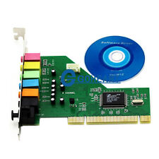 New PCI 8-Channel Optical 8CH 7.1 Sound Audio CMI87368 Card for Vista XP Win 7
