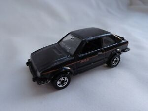 Vintage 1982 Hot Wheels BLACKWALL FRANCE Ford Escort XR3 BLACK RARE EXC!