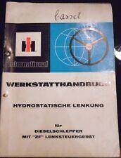 IHC Schlepper hydr Lenkung für Schlepper mit ZF Lenksteuergerät Werkstattbuch