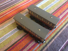 Learning Curve Wooden Thomas the Train Express Coaches! Excellent! Retired