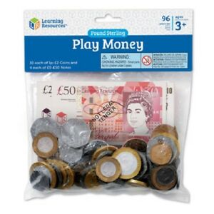 Learning Resources UK Play Money | KS1 Maths Resource