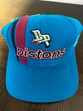 Detroit Pistons Logo Athletic Vintage 90's NBA Adjustable Cap Hat - NWT