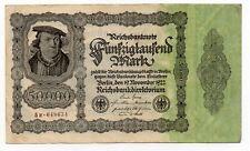 Duitsland / Germany - 50.000 Mark 1922