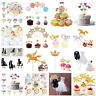 Cake Toppers Happy Birthday Baby Shower Cupcake Candle Party Decor Supplies DIY