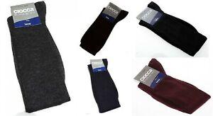 1 paio calza alta sottoginocchio uomo 80% lana CIOCCA articolo 888