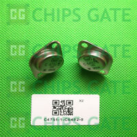 1 PAIRS Transistor Crown TO-3 C4751-1/C6492-0 C4751/C6492