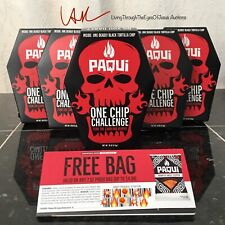 NEW Paqui One Chip Challenge Carolina Reaper Authentic SAFE Packaged In November
