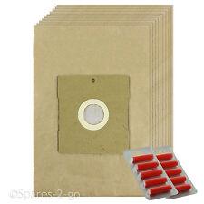 10 SACCHETTI ASPIRAPOLVERE filtrata sacchi di carta per DELONGHI HOOVER SACCHETTO + FRESCO