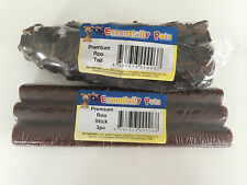 Dog treat -Roo Tail & Roo stick 3pc OZ MADE and Owned Air Dried natural dog chew