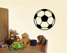 Wandtattoo Fußball Wandaufkleber Fussball 25 Farben 4 Größen Wandsticker Sticker
