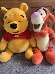 "MATTEL Winnie the Pooh Plush Stuffed Animal Bear 24"" Large WALT DISNEY Tigger"
